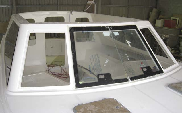 Front Glass Installation